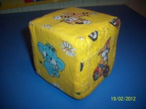 Кубик с изображениями животных