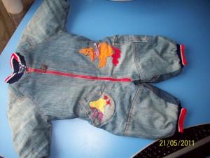 Сшить комбинезон для ребенка из старых джинсов своими руками 31