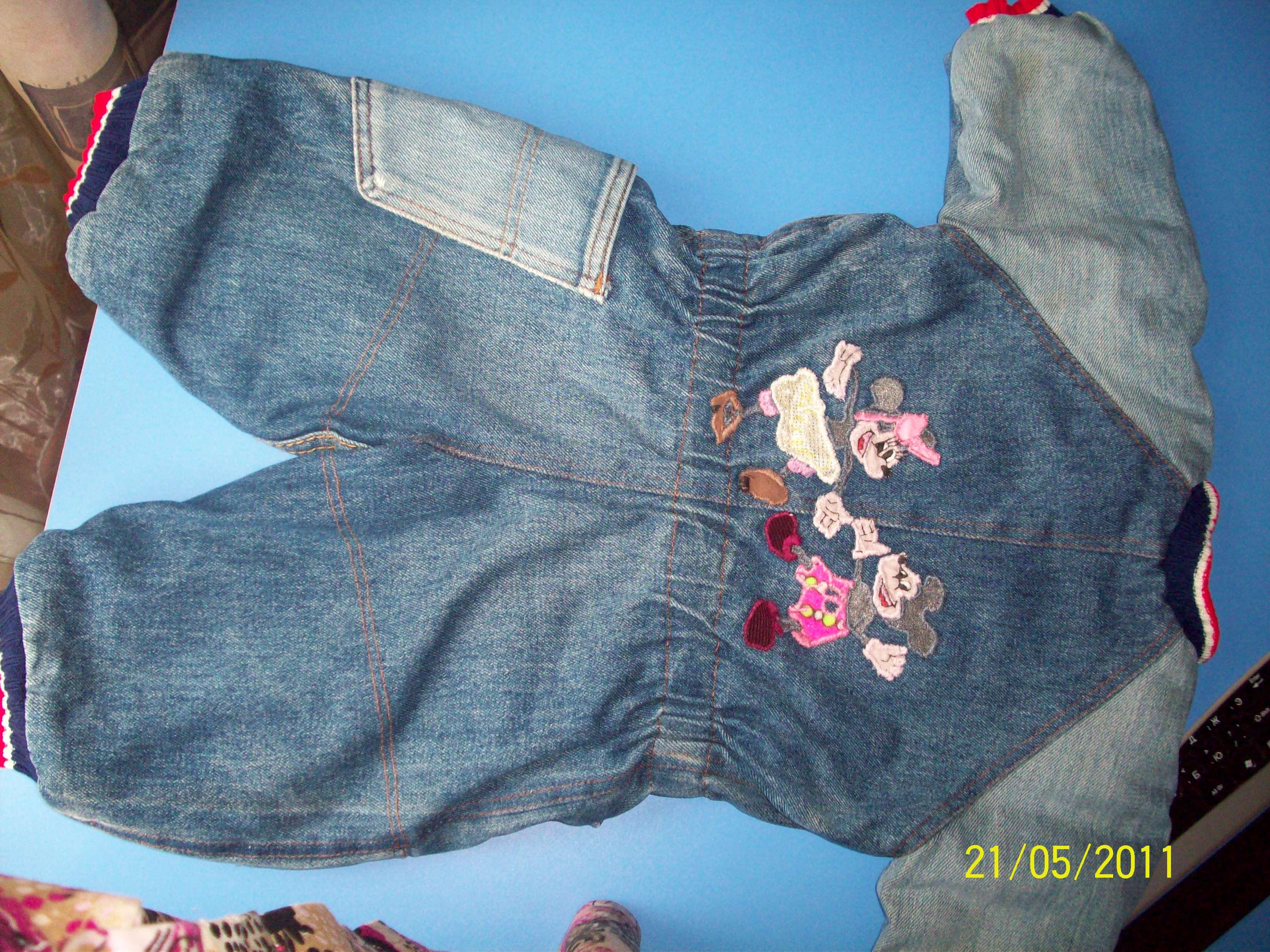 Детские джинсы из старых взрослых сшить