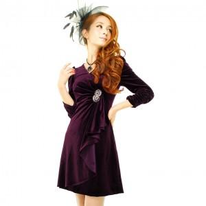 платье из вельвета