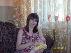 мама с 2-х -месячным ребёнком