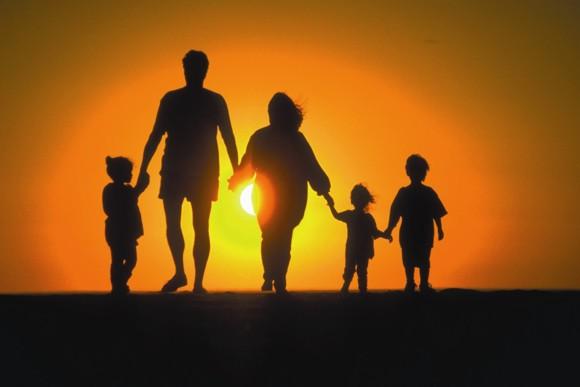 Семья - тень