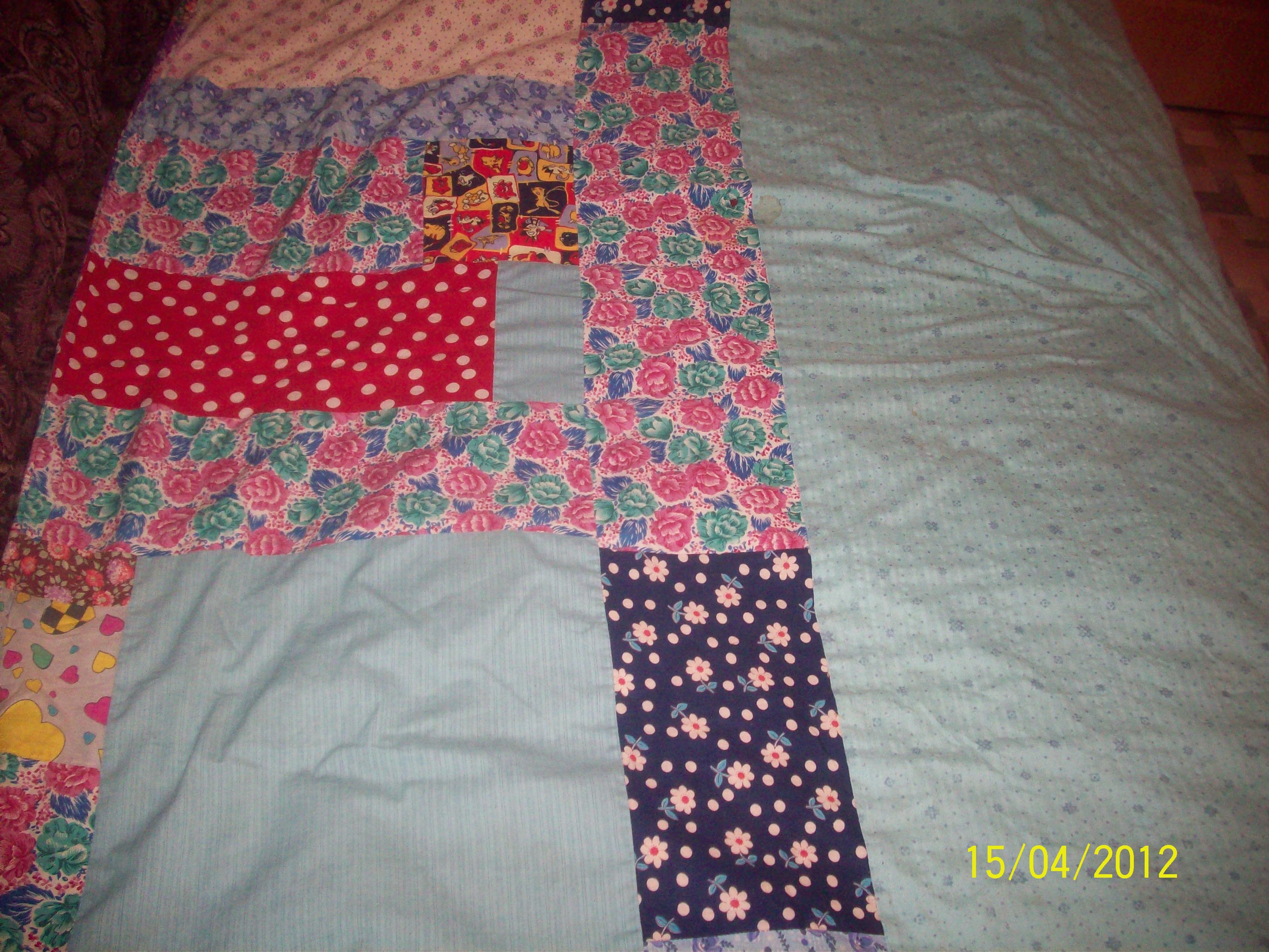 Как сшить одеяло на синтепоне своими руками 14