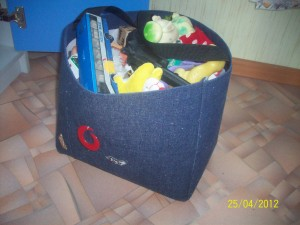 сумка с игрушками