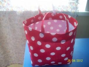 сумка в горошек