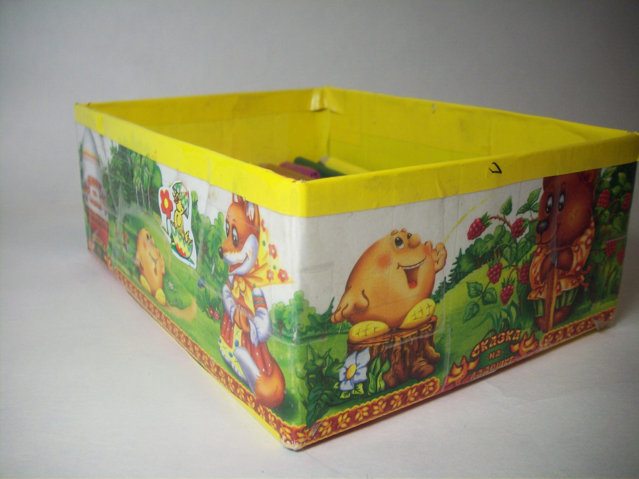 """Коробка для карандашей """"Колобок"""""""