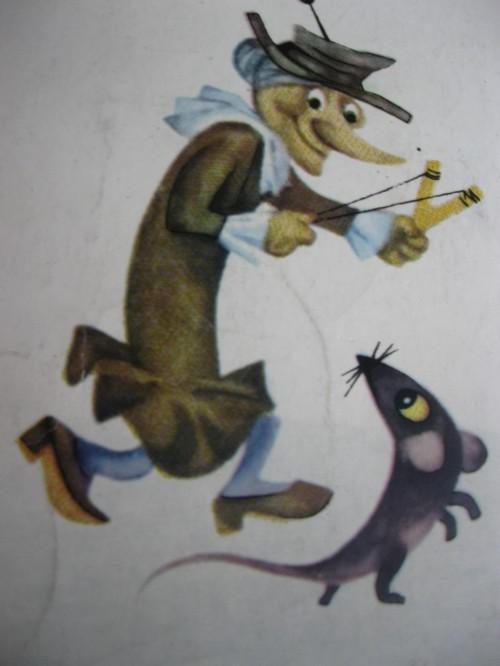Старуха Шапокляк и крыса Лариска