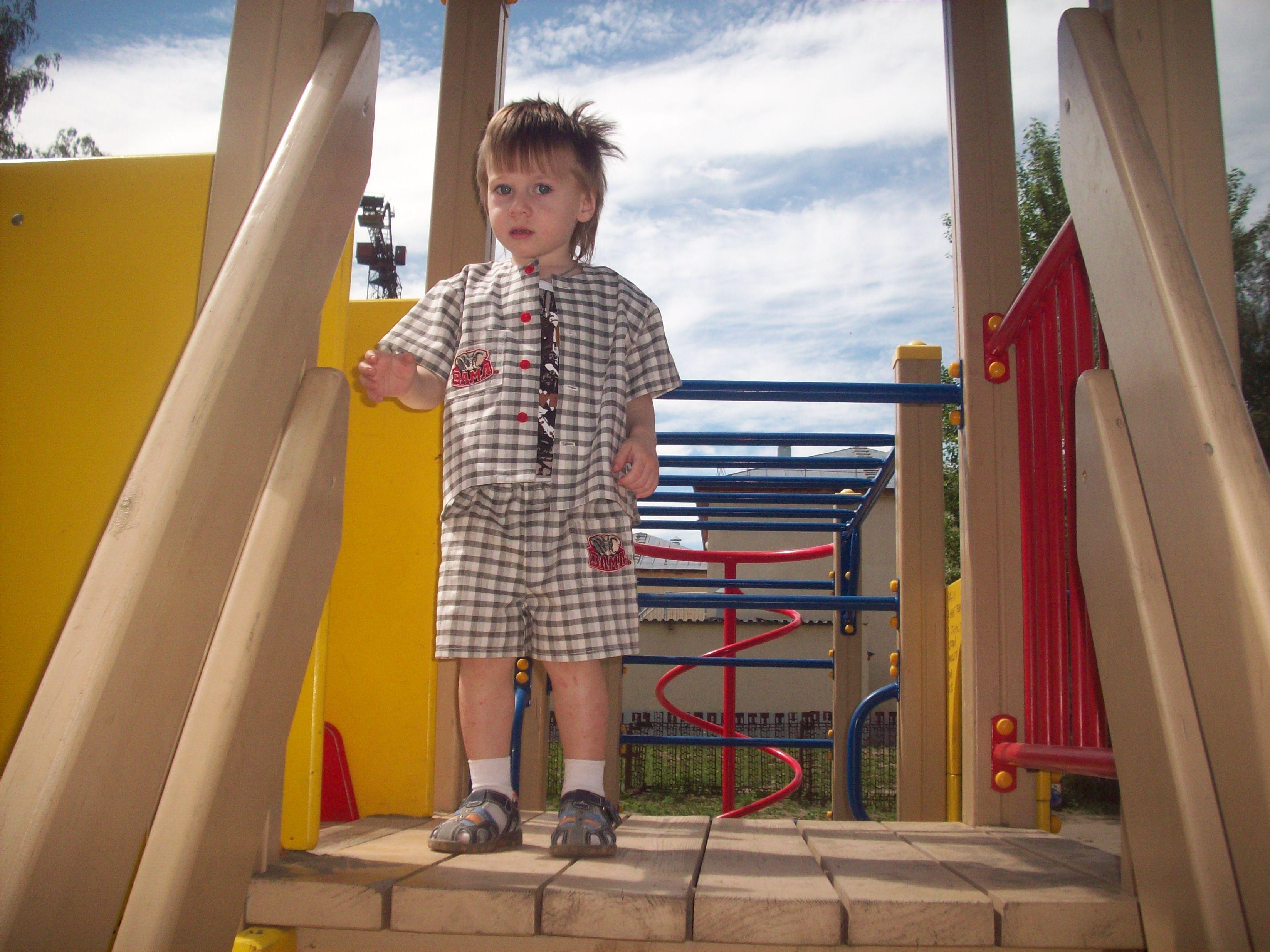 Летний костюм на мальчика