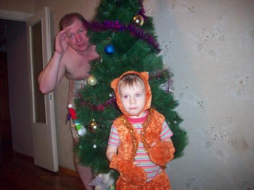 Дед Мороз не за горами, а за ёлкой