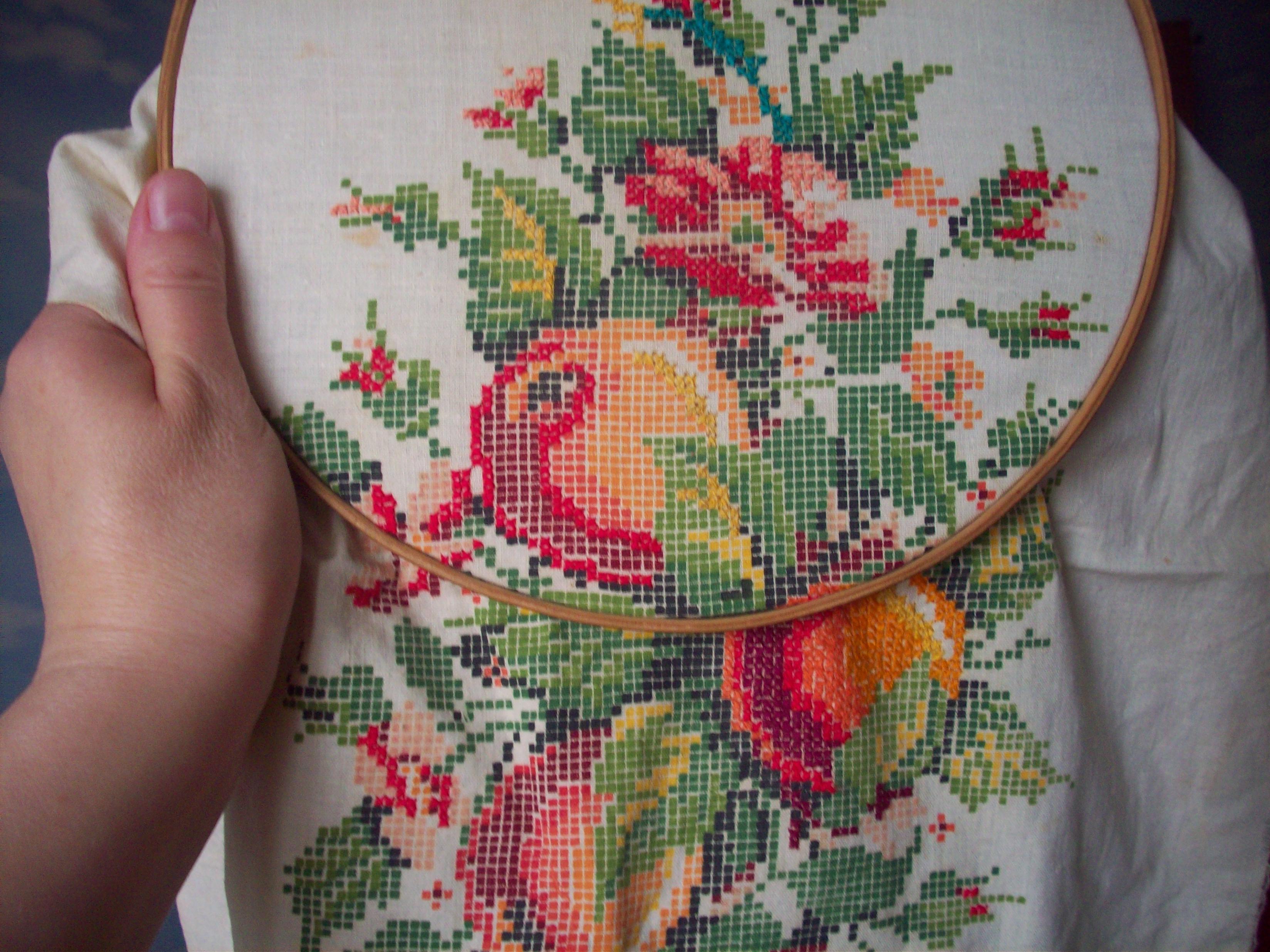 Обучение вышивки крестом фото