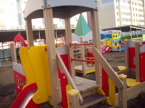 Площадки детского сада