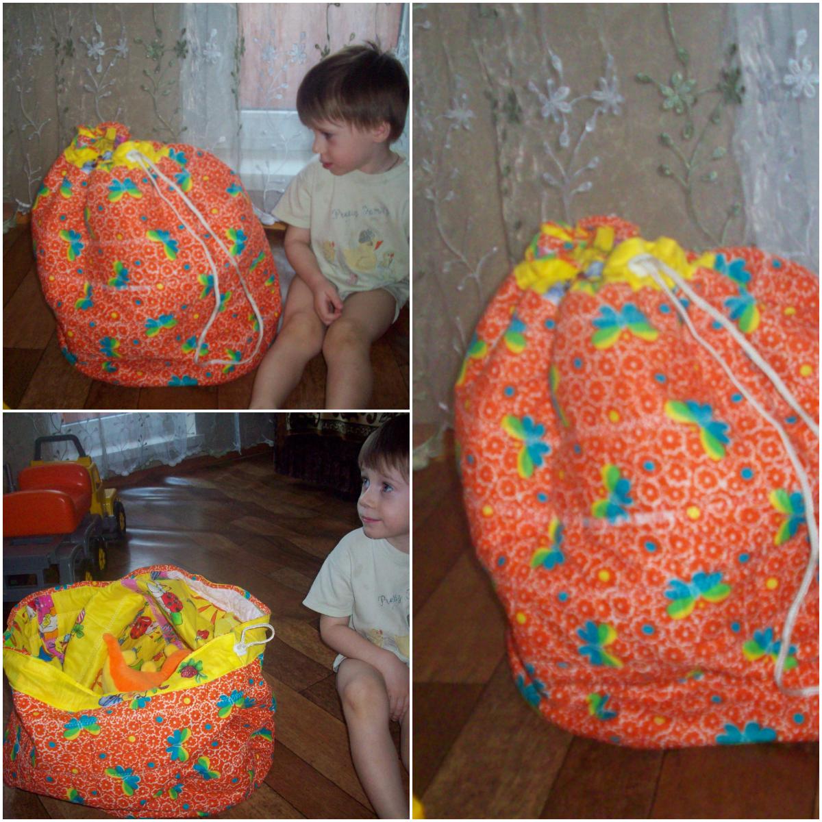 Коллаж корзины для игрушек