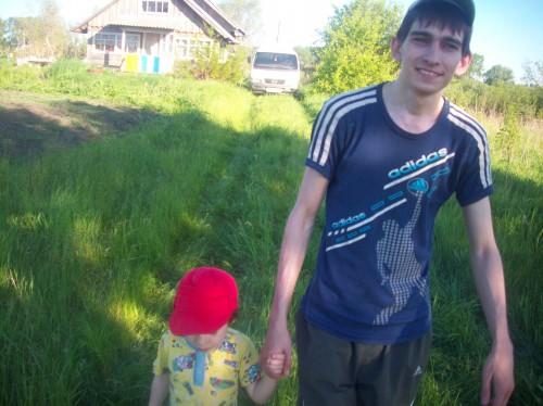Тёмка с Егоркой
