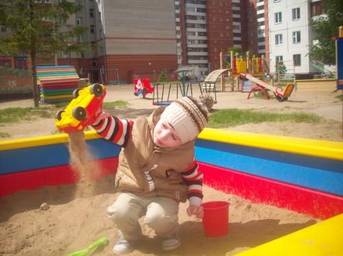 Обзор детской площадки