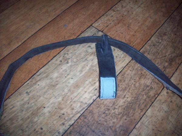 Крепление сумки на ручку санок