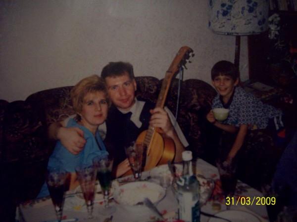 13 лет назад и Артёмка-старший