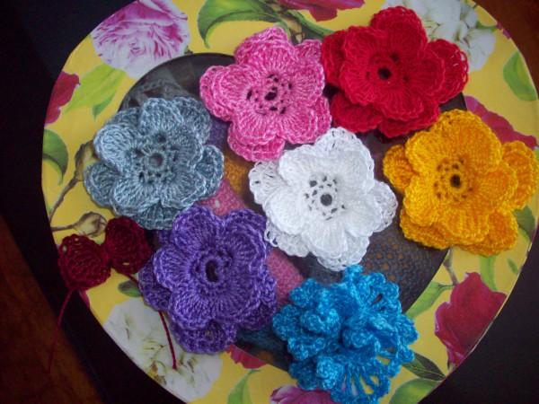 Цветочки без бусин