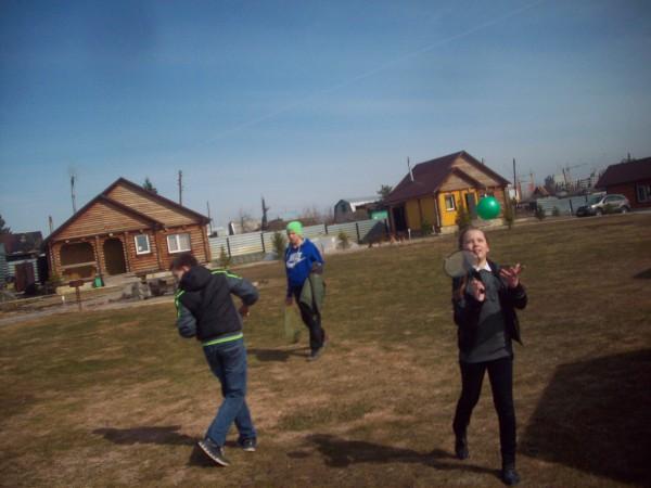 Даня, Ксюша и Егор П.