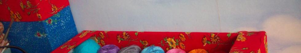 Коробка с нитками