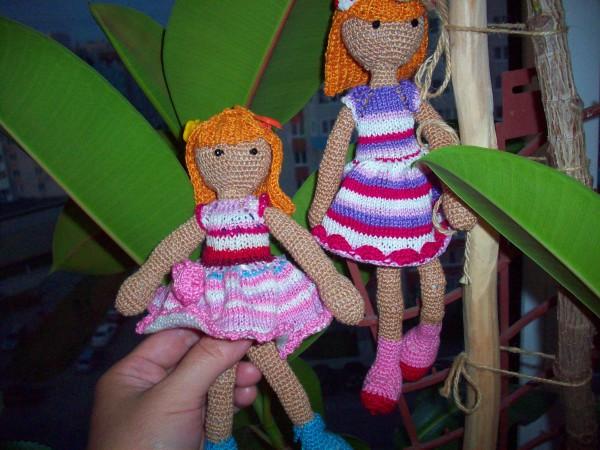 Куколки на пальме