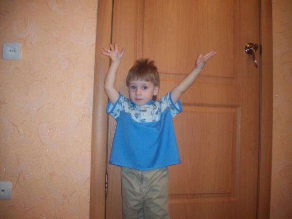 Рубашка - поло для мальчика
