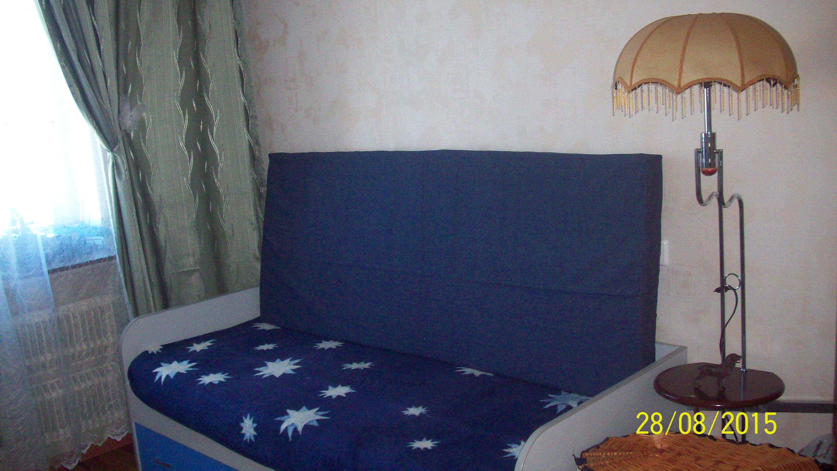 На другой кровати