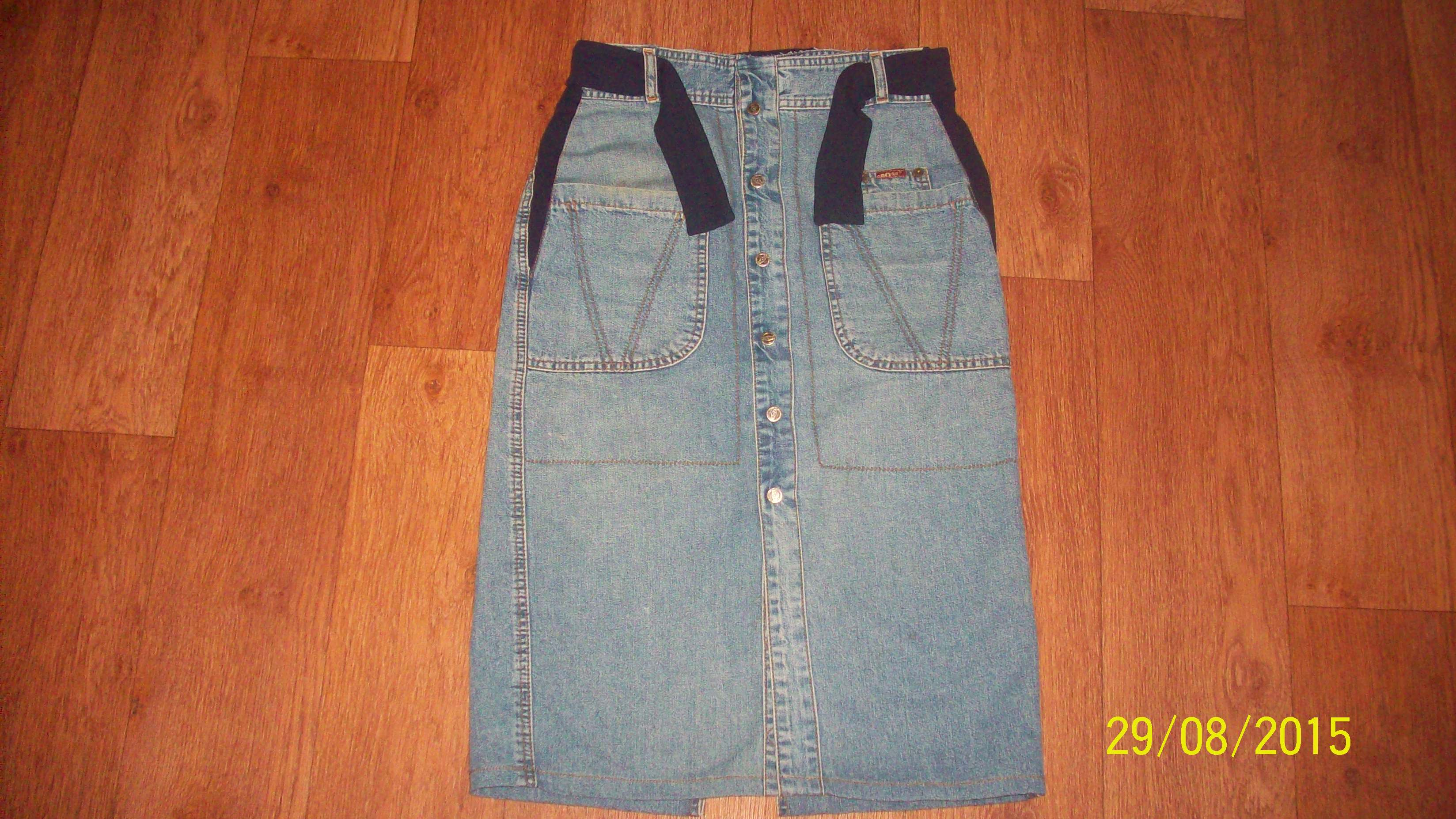 Сарафан из старых джинсов 64