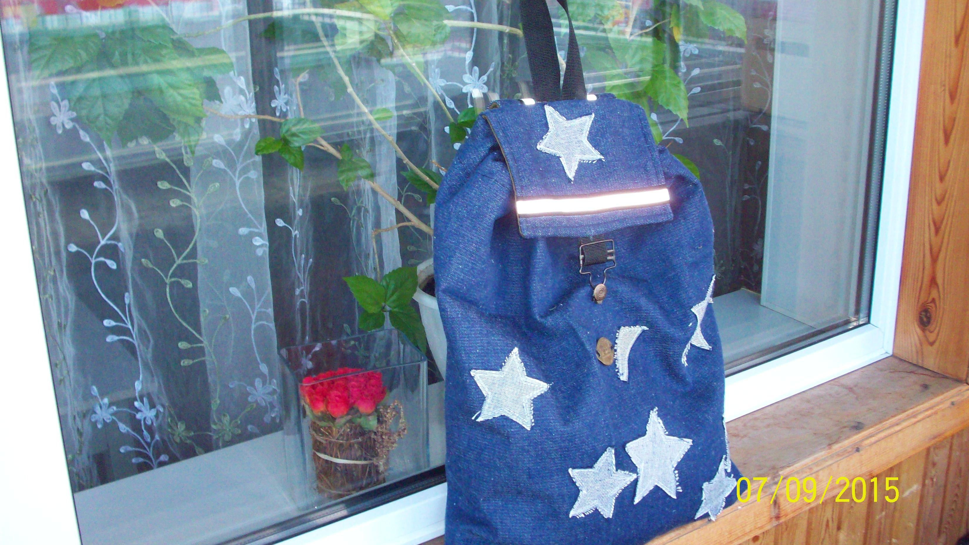 Сумка - рюкзак в готовом виде