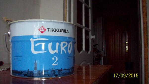 Краска для потолка Тиккурилла