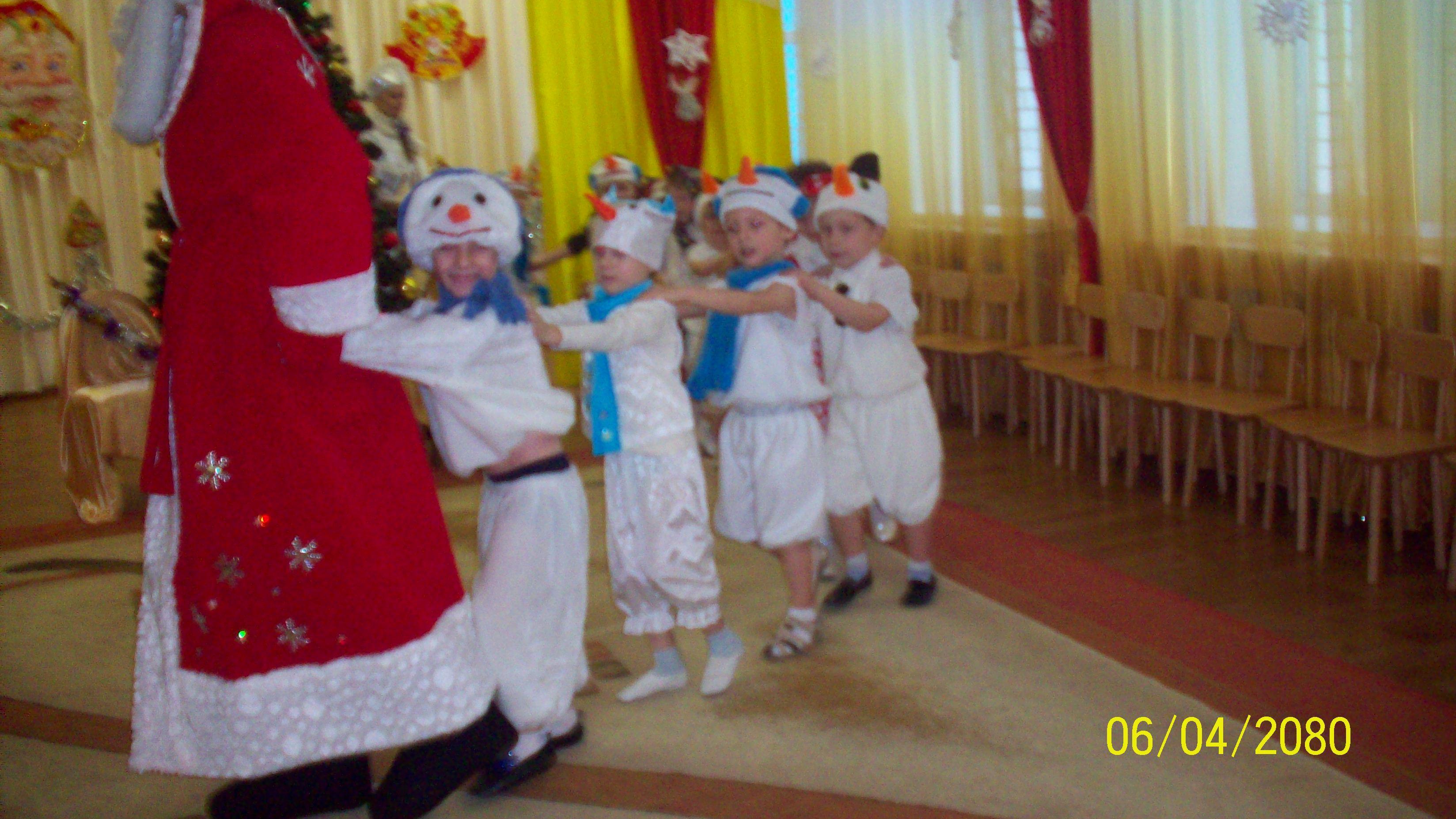 Паровоз с Дедом Морозом