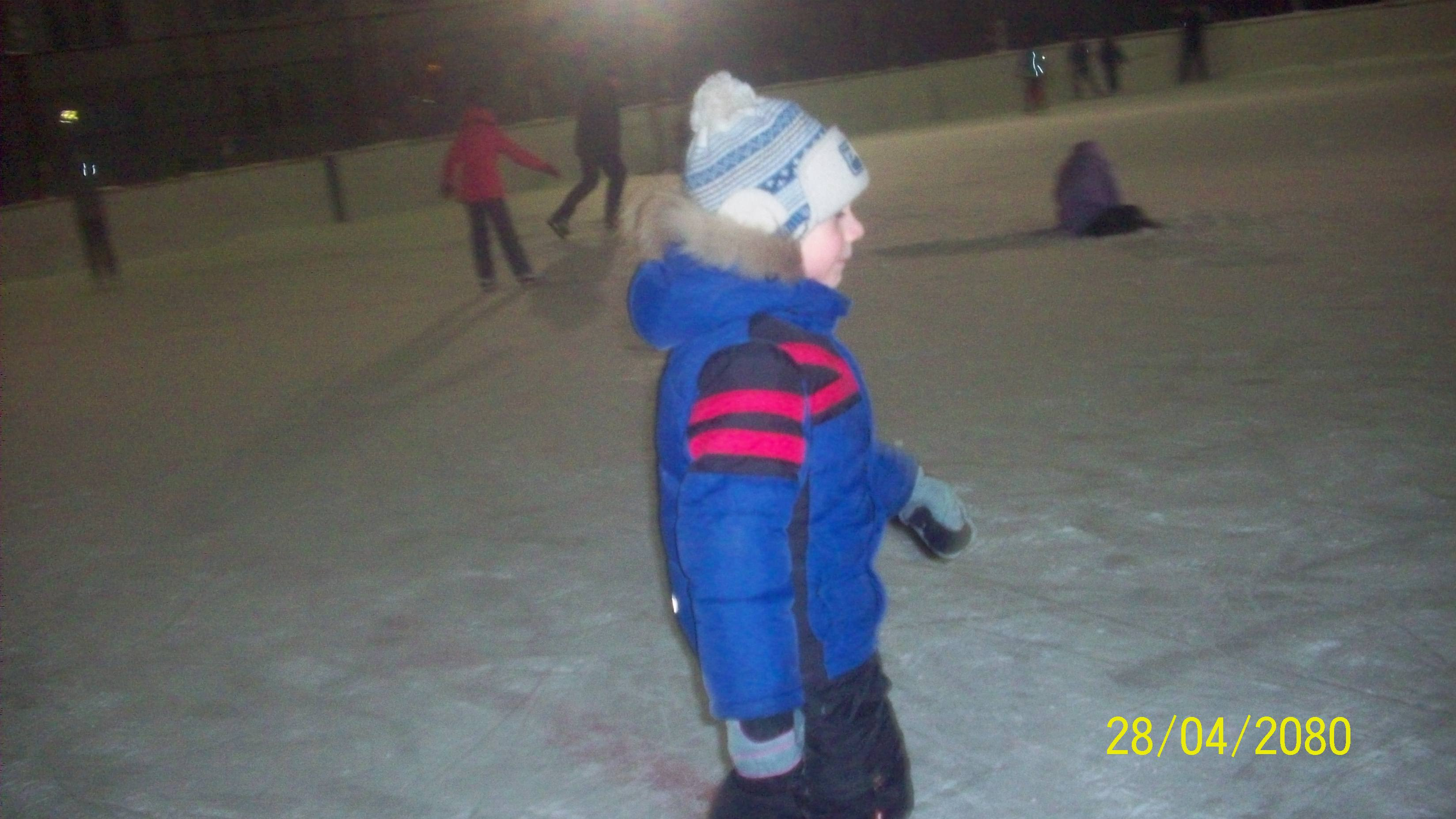 Егорка на коньках