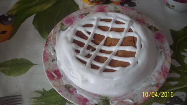 пирог творожно-шоколадный