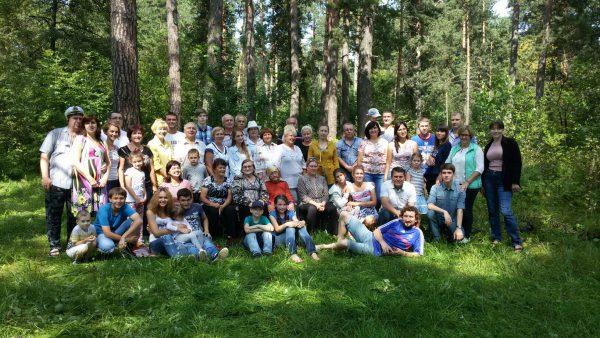 Встреча родственников 2016