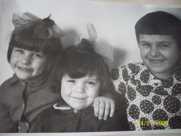 Оксана, Оля и я