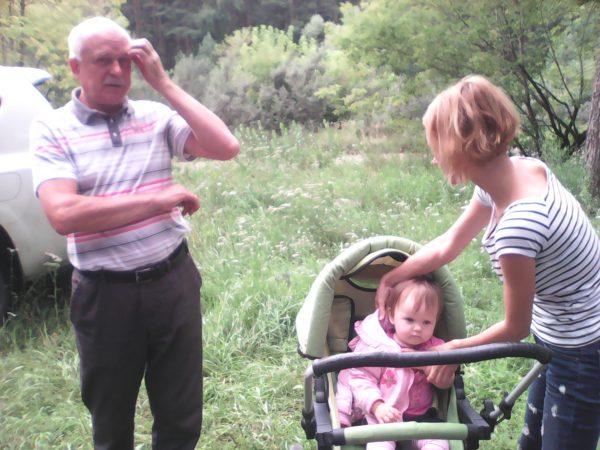 Буравцов Вова и Валентина с младшей дочкой Маргаритой