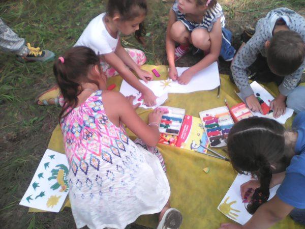 Дети участвуют в еонкурсе