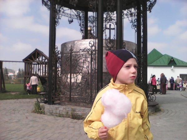 Егор со сладкой ватой