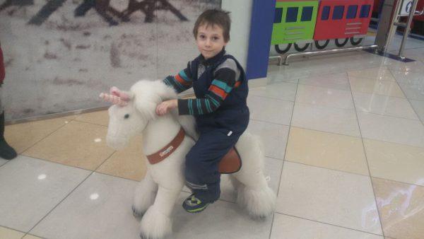 Егор на белой лошади