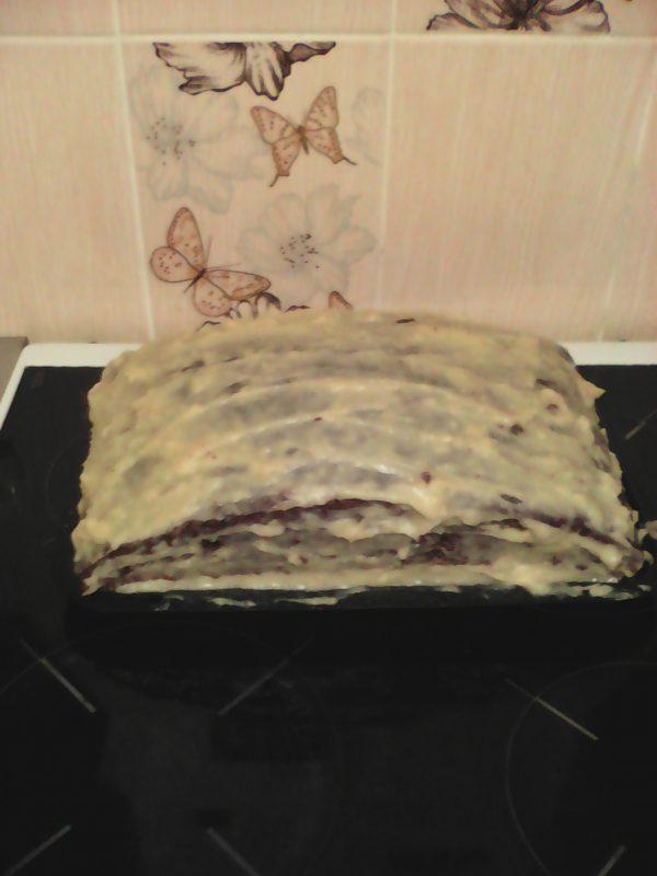 Торт для мамы от папы и Егора