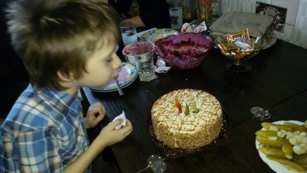 6 лет Егорке