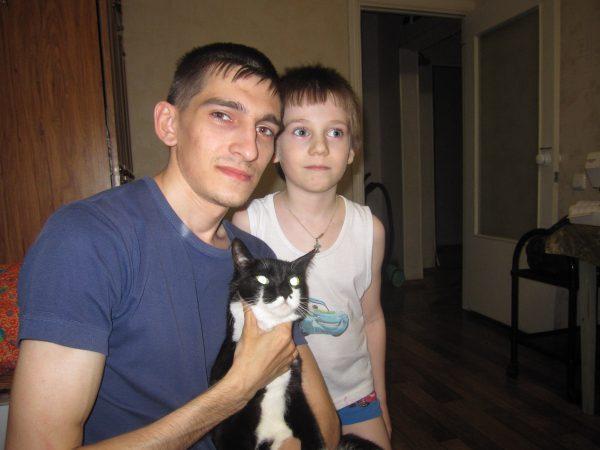 Тёма и Егор с Боней